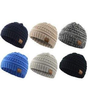 Other - Christmas Cute Winter Hats for Baby Unisex-A